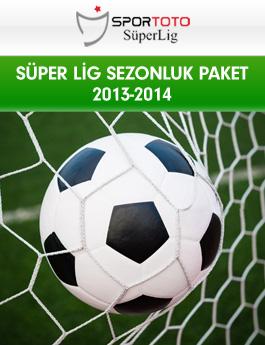 Süper Lig Sezonluk 2013 - 2014